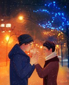 Magnus and Alec.
