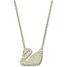 Swarovski Swan necklace, Crystal