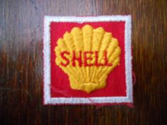 shell iron on patch by Silly67 on Etsy, €4.00