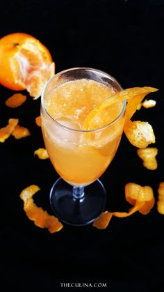 Need something refreshing to boast your day?  Try this Sparkling Orange and Milk Soda!  Read more about the recipe in the blog. Cheers!
