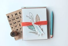 Moglea notecard set