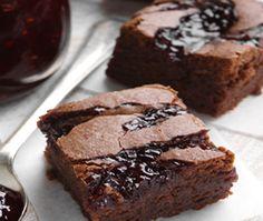 Black Raspberry Beet Brownies