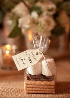 42 Wedding Favors Your Guests Will Actually Want DIY wedding planner with di wedding ideas and tips including DIY wedding tutorials and how to instructions. Everything a DIY bride needs to have a fabulous wedding on a budget! Winter Wedding Favors, Unique Wedding Favors, Fall Wedding, Our Wedding, Dream Wedding, Wedding App, Perfect Wedding, Wedding Reception, Trendy Wedding