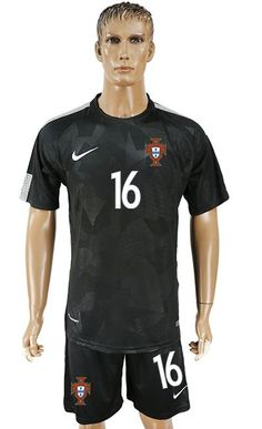 2018 World Cup Jersey Portugal,all cheap football shirts are good AAA+ quality and fast shipping,all the soccer uniforms will be shipped as soon as possible,guaranteed original best quality China soccer shirts Soccer Uniforms, Nfl Jerseys, Football Shirts, World Cup Jerseys, Nba, Portugal, Sporty, Mens Tops, Black