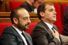 """Rivera admite ser """"franquista"""" y hace una oferta de pacto a su máximo representante en Cataluña"""