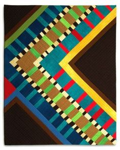 Love the stripes! Bold Move by Diane Melms.