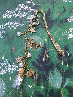 Make a Wish, Large Fairy, Bronze Bookmark - Crafty Magpie