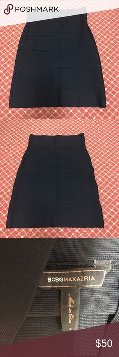 BCBG tight bandage high waited skirt black BCBG black right bandage material high waisted skirt BCBG Skirts Pencil