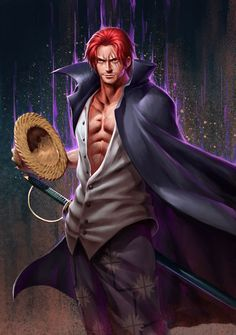 One Piece | Shanks it looks like Jackman