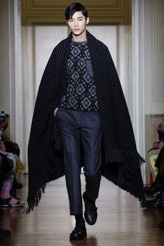 Christian Pellizzari Menswear Fall Winter 2015 Milan | byeon wooseok