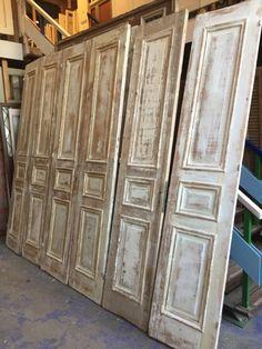 nr. 501 zes gelijke sets antieke deuren