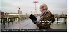 The list | A year of reading the world