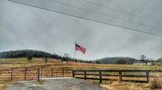🇺🇸 #americanflag #flag #Twilight #Dusk #hills #naturegram #bellbuckle  #streetphotography #backroads #nature_perfection #NaturePhotography #PhonePhotography #midtn #starsandstripes #oldglory #lookup