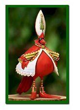 "Krinkles ""Cardinal Ornament""  by Patience Brewster - NIB + Free Ship"