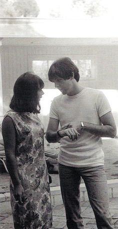 Paul and Diana Vero, Brian Epstein's secretary in 1964