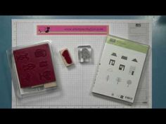 How to convert wood mount stamps to clear mount - YouTube