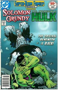 Solomon Grundy Vs Hulk