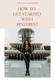 Learn how to get started with Pinterest for your photography business. Follow these photography business tips to make sure you see the best results. #pinterestbusiness #photographer #weddingphotographer #photographytips #photographybiz #photography101 Photography Marketing, Photography 101, Wedding Photography Inspiration, Photography Business, Photographer Branding, Female Photographers, Photo Tips, Creative Business, Business Tips