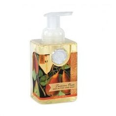 This Tuscan pear hand foam is amazing!! Stop buy spa see what other scents we have visit www.bellapellaspa.com