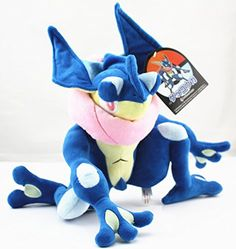 Pokemon Center 12inch Greninja Plush Toy Stuffed Animal Doll – Pokemon Toys: Soft toys