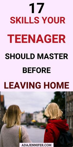 17 Skills Your Teenager Should Master Before Leaving Home - Life skills kids need to learn before leaving home, special education and teaching basic lessons fo - Foster Parenting, Good Parenting, Parenting Humor, Parenting Articles, Parenting Books, Raising Teenagers, Parenting Teenagers, Life Skills Kids, Leaving Home
