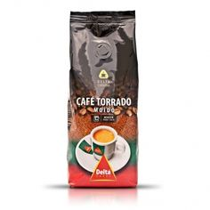 DELTA Roasted Coffee - Ground / Whole Beans - 250g £2.19!