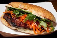 Num pang. A Cambodian sandwich. This place ranks one of the best sandwich shops in NYC! Very inspiring.