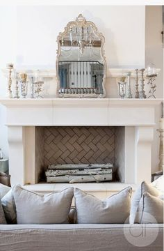 tile fire place