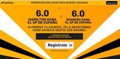 el forero jrvm y todos los bonos de deportes: betfair supercuota 6 Hamilton o Rosberg a ganador ...