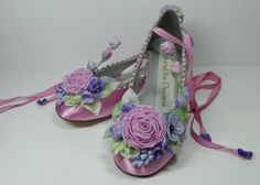 Sugar Plum Fairy Princess Faerie Shoes  Bride's by AJuneBride, $165.95