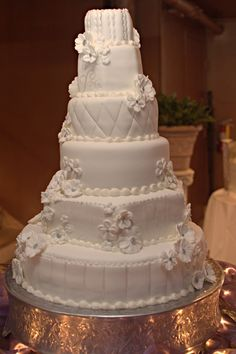 glamorous cakes | tier Glamorous Wedding Cake