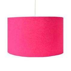 Handmade Hot Pink Lamp Shade