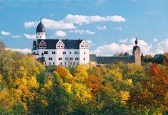 "Lunzenau (Sachsen) - Castle / Schloss / Château ""Rochsburg"""