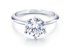 Dream Engagement Ring: The Tiffany Setting from Tiffany & Co. (bc every girl wants something from Tiffany's)