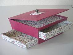 Elle porte bien son nom.... cette boîte calisson voilà nos dernières réalisations!
