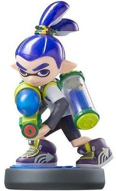 Nintendo - Amiibo Figure (Splatoon Series Inkling Boy)
