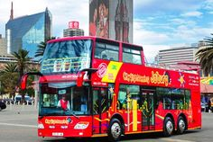 T & Serendipity: The Sightseeing bus!