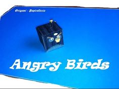 Paper Toys. Origami - Papiroflexia. Angry Birds 3D. #3