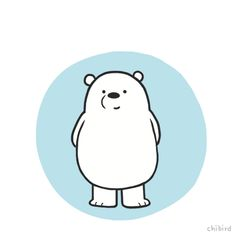 I drew this animation of Ice Bear for @cartoonnetworkofficial! :D Their show We Bare Bears is adorable, and I'm so honored to have the opportunity to create this for their social media.