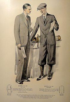 J.L. Taylor men's fashion catalog, 1927.