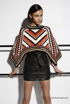 Balmain Resort 2015 Fashion Show Haute Couture Style, Couture Mode, Couture Fashion, Runway Fashion, Womens Fashion, Tribal Fashion, Live Fashion, Fashion Week, Fashion Show