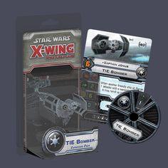 Star Wars X-Wing Tie Bomber from Fantasy Flight!