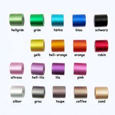 Aluminium Perlen: Zylinder / Walze eloxiert, 10x10 mm, Wunsch-Farbmix !!!