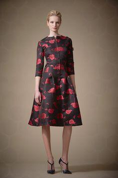 Carolina Herrera Pre-Fall 2014 Collection Slideshow on Style.com