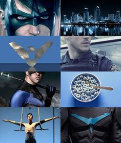 geekaesthetics:  Aesthetics - Dick Grayson/Nightwing | Batman   Sometimes the lines get blurred. Sometimes the only thing between you and them is the mask and cape.   Source 1 | Source 2 Jason Todd | Timothy Drake | Damian Wayne    Barbara Gordon |  Cassandra Cain|  Stephanie Brown