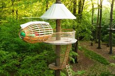 Erlebnest is a Breezy Open-Air Treehouse Retreat in Germany | Inhabitat - Sustainable Design Innovation, Eco Architecture, Green Building