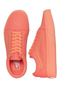 8a548628d10 Checkout this out  Vans - Old Skool Mono Fusion Coral - Dámské boty for 36