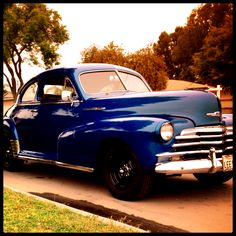 My classic '48 Chevy with some new wheels