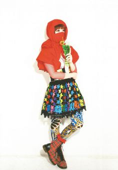 I wish I could be as cute and cool and bold in the way I dress as Kyary Pamyu Pamyu.