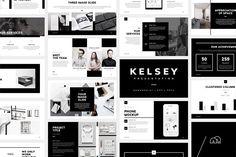 PowerPoint - Kelsey by bilmaw creative on @creativemarket